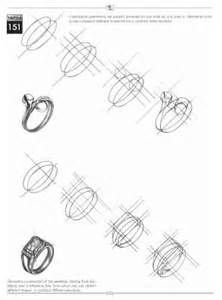 a lovely custom sketch of a fashionable ladies ring find