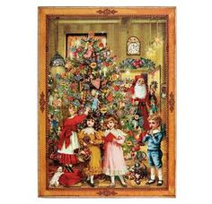 Santa is visiting - Advent calendar