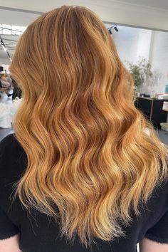 Copper Blonde Hair, Red Blonde Hair, Warm Blonde, Golden Blonde, Long To Short Hair, Medium Short Hair, Medium Hair Styles, Curly Hair Styles, Blonde Hair Inspiration