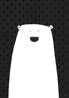 Polar bear || Grape design Buy on etsy .. Shop is a grape design