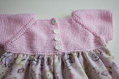 Tutorial Vestido Para Bebé - Tejido Y Tela Crochet Baby Dress Free Pattern, Baby Knitting Patterns, Knit Crochet, Vestidos Bebe Crochet, Summer Boy, Sewing For Kids, Lace Shorts, Creations, Dresses