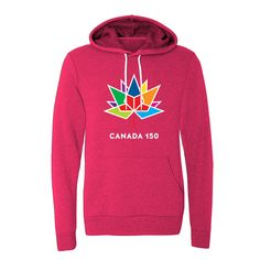 Canada 150 Pullover Terry Hoodie  Canada 150 Apparel Collection by North and Oak