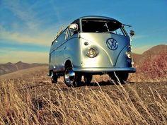 VW Camper silver
