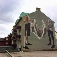 """Hyuro, """"Coexistence"""" in Trollhättan, Sweden, 2016"""