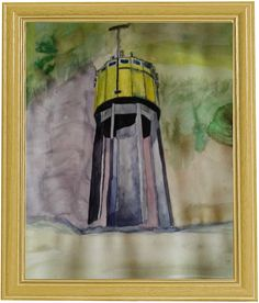 Der Wasser Turm der Gemeinde Weihmichl