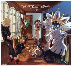 Pokemon ultra sun and ultra moon Pokemon Alola, Pokemon People, Pokemon Fan Art, Pokemon Games, Cute Pokemon, Fennec Fox Pet, Pokemon Adventures Manga, My Bebe, Pokemon Special
