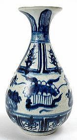 mandarin period design images | porcelain vase. Yongle period, 1403-1424 A.D., with painted mandarin ...