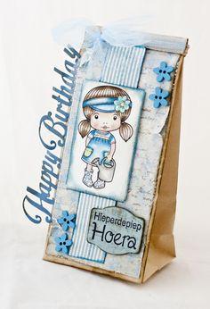 6002/0296 Noor! Design happy Birthday door Martine Bosman