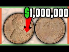 The 1943 copper penny is a one million dollar penny! This copper penny was suppose to be a 1943 steel penny. Could you imagine finding this rare coin in your. Valuable Pennies, Rare Pennies, Valuable Coins, Million Dollar Penny, Old Coins Value, Steel Penny, Old Coins Worth Money, Copper Penny, Coin Shop