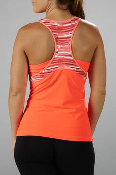 Marika Tek Solar Collection Magnitude Tank in Fiery Coral - Beyond the Rack