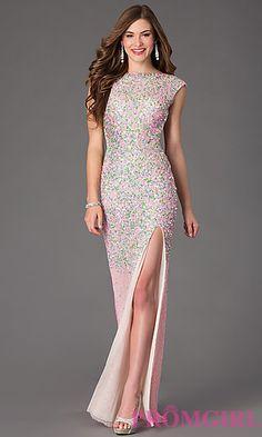 Long sequin dresses for mardi gras