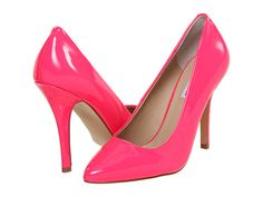 Every girl needs a pair of bright pink pumps... Steve Madden Intrude