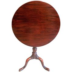 George III Mahogany Candle Stand, 18th Century | See more antique and modern Dessert Tables and Tilt-top Tables at https://www.1stdibs.com/furniture/tables/tilt-top-tables-dessert-tables
