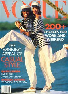 Vogue's Covers: Christy Turlington
