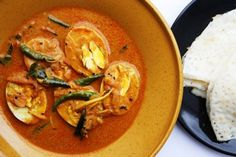 Andhra-Egg-Curry-Egg curry with coconut, ginger and curry leaves