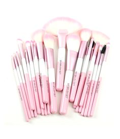 Babylicious Pink Heart 24 Piece Set – My Make-Up Brush Set