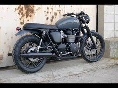 Custom Triumph Bonneville T100 by Cafe Racer Dreams