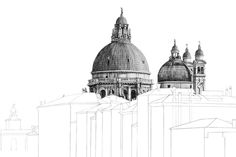 Minty Sainsbury is a London based Artist specialising in architectural pencil drawings. Building Sketch, Building Art, Architecture Portfolio, Architecture Drawings, Industrial Design Sketch, A Level Art, Environmental Art, Photoshop, Art Sketchbook