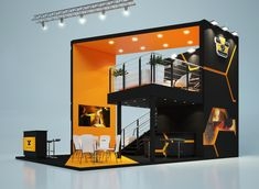 """Design of exhibition stand for company """"BSW - Byelorussian Steel Works"""" (БМЗ - Белорусский металлургический завод)"""