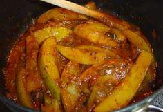 Amba Maluwa (Mango Curry) : Sri Lanka Recipes : Malini's Kitchen