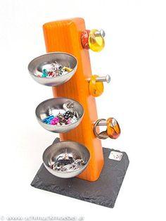 Schmuckmöbel Pisa - Schmuckständer für Ringe und Ohrringe: Amazon.de: Handmade Jewelry Holder, Toothbrush Holder, Pisa
