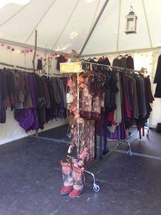 Senjo Clothing Market Stall, craft show, craft fair, market, bazaar