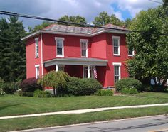 85 N State St., Westerville, OH - one time residence of my great grandmother Emma Geneva (Copper) McElwee.