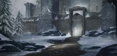 Game of Thrones - Castle Black, Hector Mateo Pino on ArtStation at https://www.artstation.com/artwork/yABX9