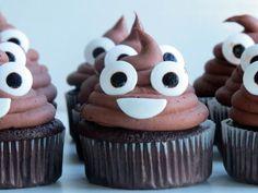 poop emoji cupcakes!!