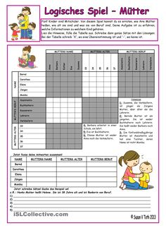 Logic game - Can-can´t-want *** upper-elementary *** with key *** fully editable *** B&W - English ESL Worksheets Logic Games For Kids, Online Games For Kids, Educational Games For Kids, Math Games, Spy Games, Board Games, English Games, English Activities, Upper Elementary