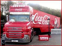 coke cola trailer
