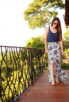 diy easy summer skirt