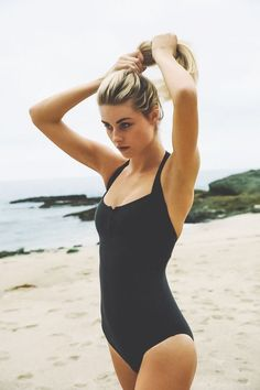 Black #swimsuit