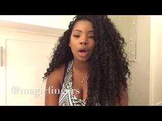 Crochet Braids With Leave Out | Freetress Deep Twist - YouTube