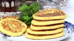 Recept 7 #Choumicha - #Harcha of griesmeelkoek Version Francaise, Bento, Ramadan, Foodies, Breakfast, Desserts, Youtube, Om, Brick