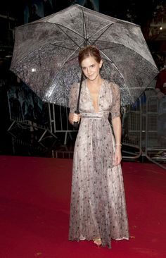 At the world premiere of <em>Harry Potter and The Half-Blood Prince</em>in London. -Cosmopolitan.com