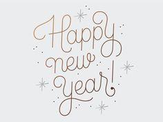Silvester Handlettering >> Hello 2014!