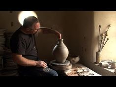 Nic Collins: Wood Fired Pots 'The Hard-Won Art'. We sent our filmmaker Alex J. Wright down to Nic Collins' pottery to record the last kiln o. Alex J, Fire Pots, Pottery Videos, River Bank, Selling Art, Ceramic Artists, Ceramic Pottery, Filmmaking, Cool Art