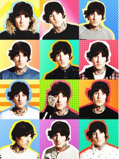 The many faces of Oliver Sykes :)