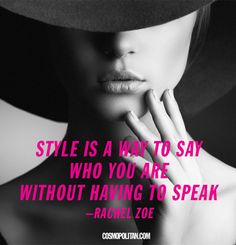 Style quotes to dress by.