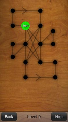 Drawesome ($0.00) A simple yet extremely fun and addictive puzzle game. Recommended for Visual Motor Integration, Fine Visual Motor at the Intermediate Level by OPTOMETRIC CENTER FOR FAMILY VISION CARE AND VISION THERAPY    How to play: Connect all the dots without repeating your steps.    If you are having a hard time to solve the puzzle you can use the help button.