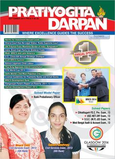 Pratiyogita Darpan English September 2014 edition - Read the digital edition by Magzter on your iPad, iPhone, Android, Tablet Devices, Windows 8, PC, Mac and the Web.