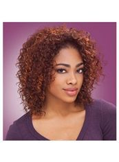 Cheap 14 Inch Lace Front Curly Brown Top Quality High Heated Fiber Wigs