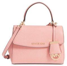 MICHAEL Michael Kors 'Extra Small Ava' Leather Crossbody Bag