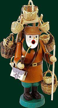 Glaesser Incense Smokers - Woven basket peddler