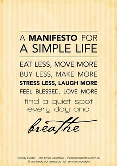 a | simple life