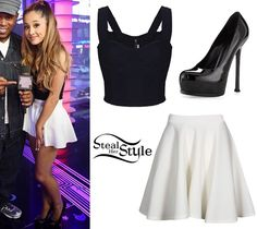Ariana Grande's Clothes & Outfits | Steal Her Style | Page 10                                                                                                                                                                                 Más