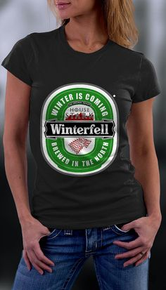 Game Of Thrones Tshirt Winterfell Tshirt Game Of by ZeeTeesApparel
