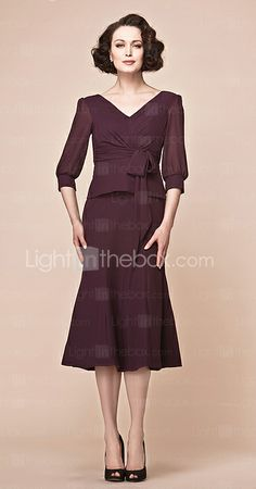 Possible Mother of the Bride dress... in a different color though.