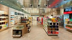 Project name: ZÜRICH AIRPORT | Project location: ZÜRICH, SWITZERLAND | Sales area: 1.160 m² | Opening: 12/2011 Umdasch Shopfitting - Travel Retail